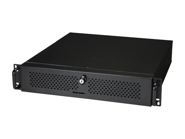 Athena Power RM-2U2345FS60 Black 1.2mm Steel 2U Rackmount Server Case