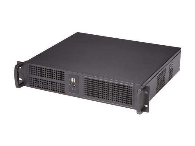 Athena Power RM-2U2022S47 Black Steel 2U Rackmount Server Chassis