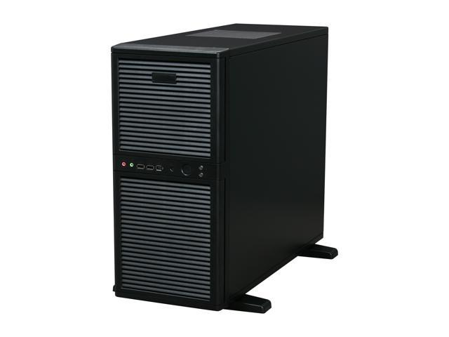 Athena Power CA-SWH02BR508 Black Steel Pedestal Server Case