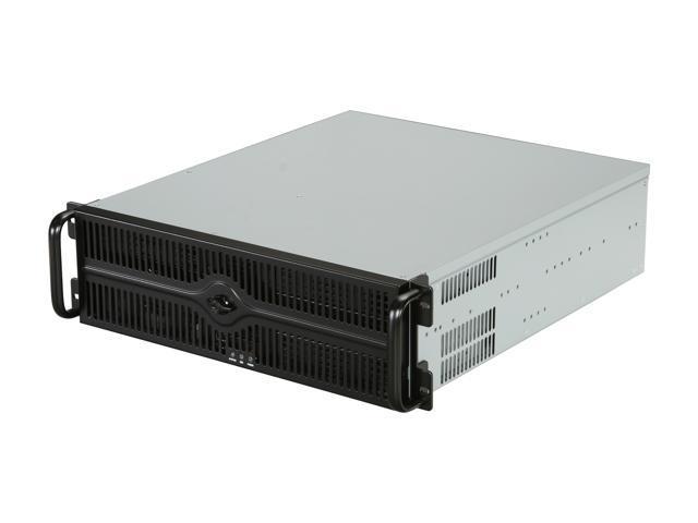 Athena Power RM-3U349B55 Black 3U Rackmount Server Case