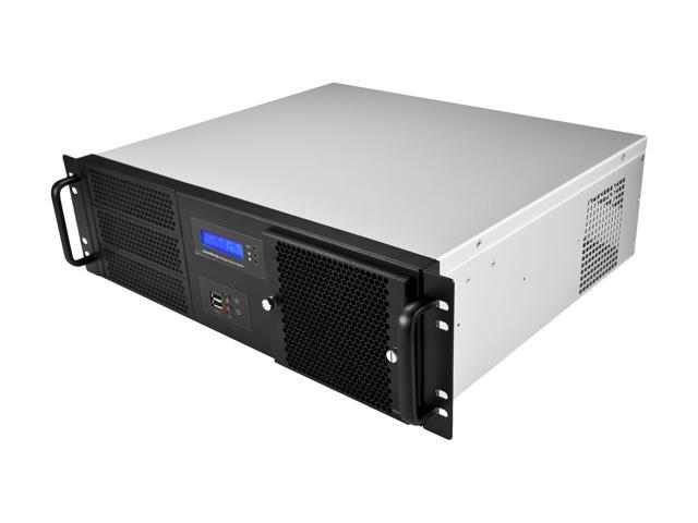 Athena Power RM-3UD370S558 Black 3U Rackmount Server Case