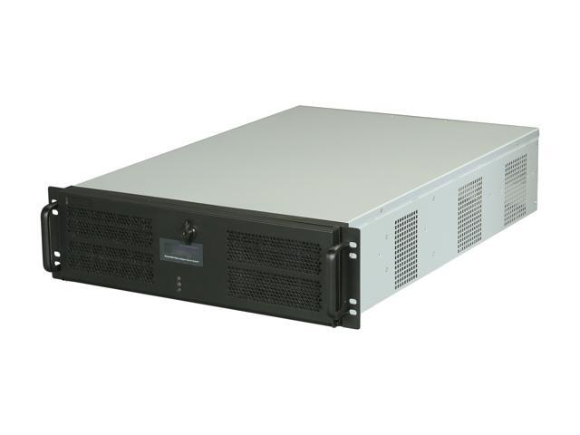 Athena Power RM-3UD365R508 Black 3U Rackmount Server Case