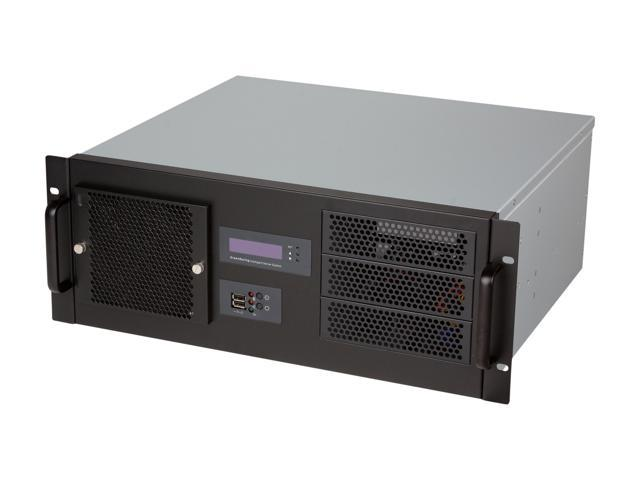 Athena Power RM-4UD438B75 Black High Clean Grade SECC 4U Rackmount Server Case