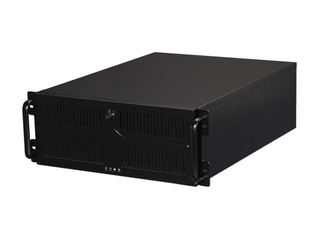 Athena Power RM-4U455B808 Black 4U Rackmount Server Case - OEM