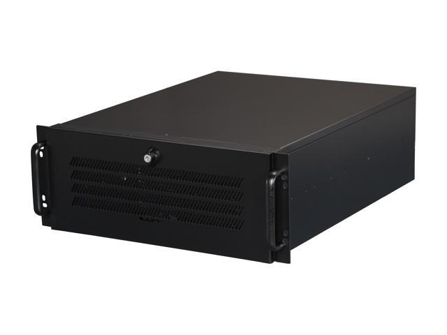 Athena Power RM-4U4055B808 Black 4U Rackmount Server Case - OEM