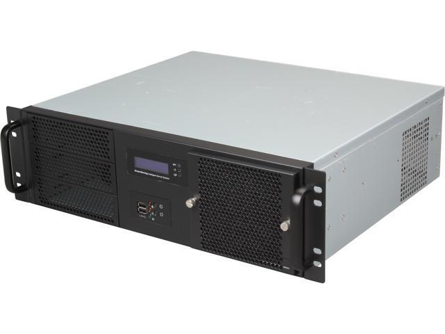 Athena Power RM-3UD370S608 Black Steel 3U Rackmount Server Case