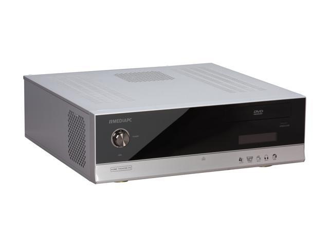 nMEDIAPC Silver HTPC 5000S Micro ATX Media Center / HTPC Case