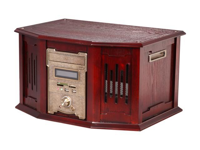 nMEDIAPC Red Wood Wood/Steel HTPC 8000 ATX Media Center / HTPC Case