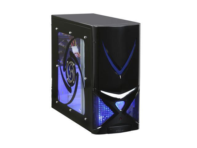 XION AXP 100 Gaming Series AXP100-001BK Black Computer Case