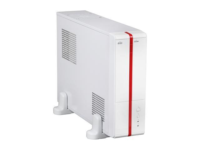 XION XON-710P_WT White Steel Micro ATX / Mini ITX Slim Desktop Computer Case 300W Power Supply