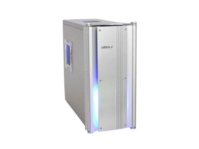 ABS Stealth CS-05A2s Silver Aluminum ATX Mid Tower Computer Case