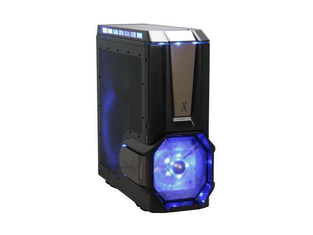 ABS Diablo ADV Black Finish + Titanium bezel Steel ATX Full Tower Computer Case
