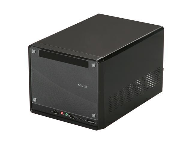 Shuttle KP10 Black Computer Case