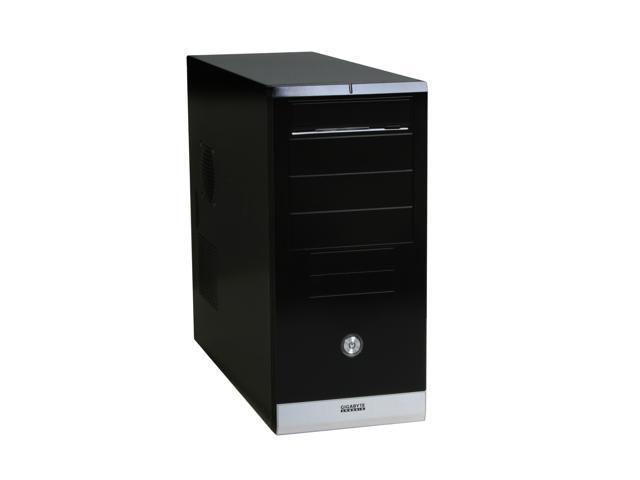 GIGABYTE GZ-X1 Black 0.6mm SECC / ABS Front Panel ATX Mid Tower Computer Case Peak: 420W; Average: 350W Power Supply