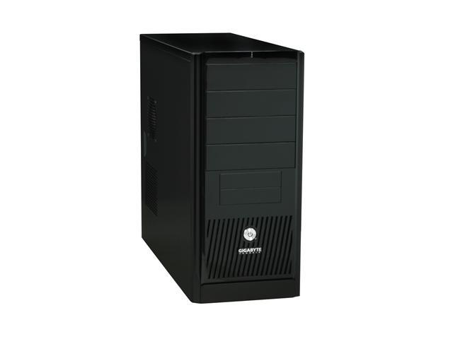GIGABYTE GZ-X5 Black ABS / 0.6 mm SECC ATX Mid Tower Computer Case