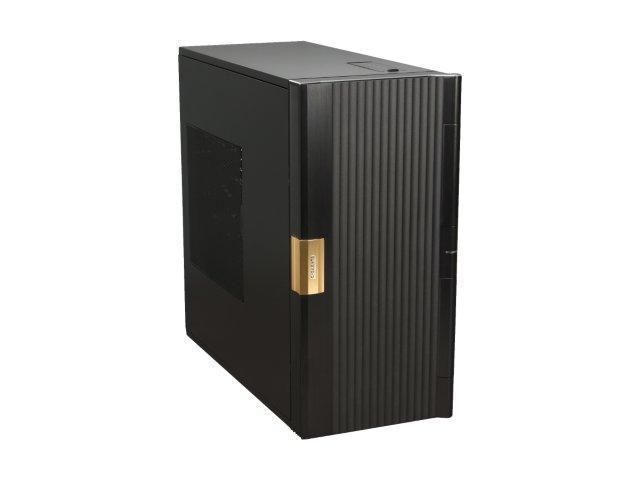 GIGABYTE Cupio 6140 GZ-AABC61-CNB Black Aluminum / 0.8mm SECC ATX Mid Tower Computer Case