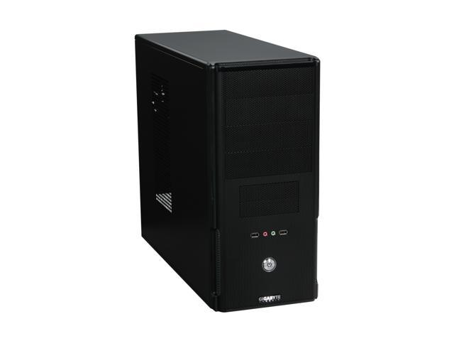 GIGABYTE Luxo M1000 Black 0.5mm SECC / ABS / Steel Mash ATX Mid Tower Computer Case