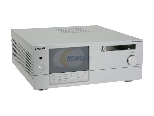 ZALMAN Silver Aluminum HD160XT Plus ATX Media Center / HTPC Case
