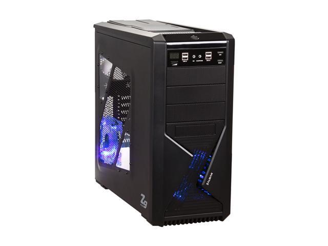 ZALMAN Z9 Plus Black Steel / Plastic ATX Mid Tower Computer Case