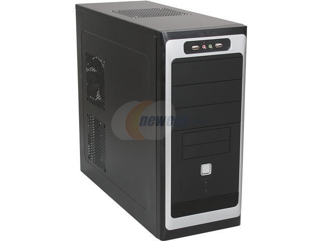 TOPOWER TP-6208BB Black Computer Case