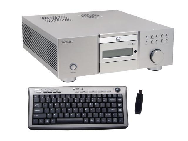 Moneual Silver MonCaso 832 Platinum ATX Media Center / HTPC Case