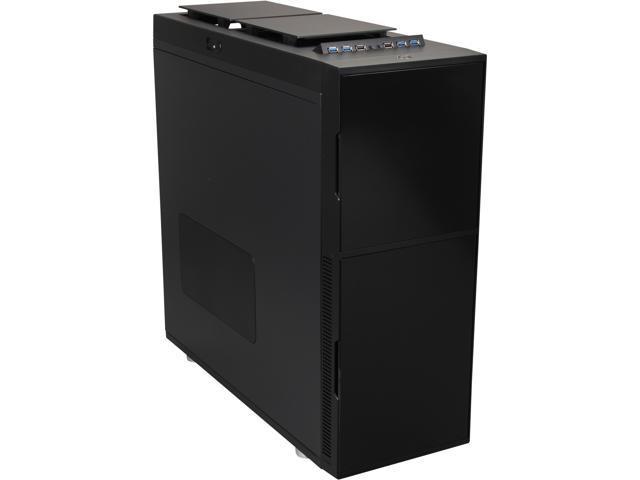 Nanoxia NXDS6B Black Steel ATX Super Tower Computer Case