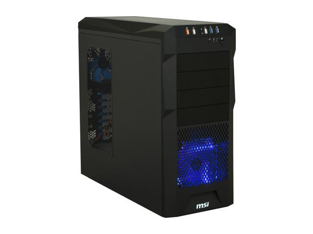 MSI Stealth IN-602 Black Computer Case