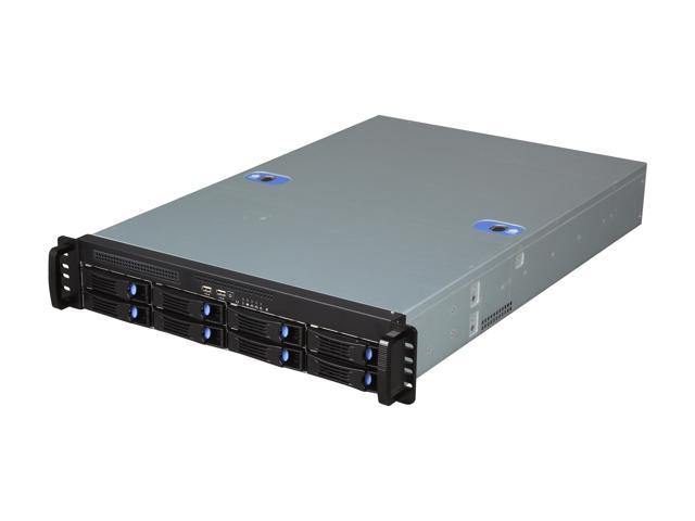 Habey ESC-2082C 2U Storage Server Chassis with 8 hot-swap SAS/SATA Bay