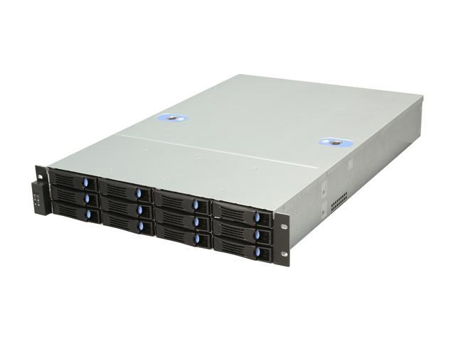 Habey ESC-2122C 2U Storage Server Chassis with 12 hot-swap SAS/SATA Bay