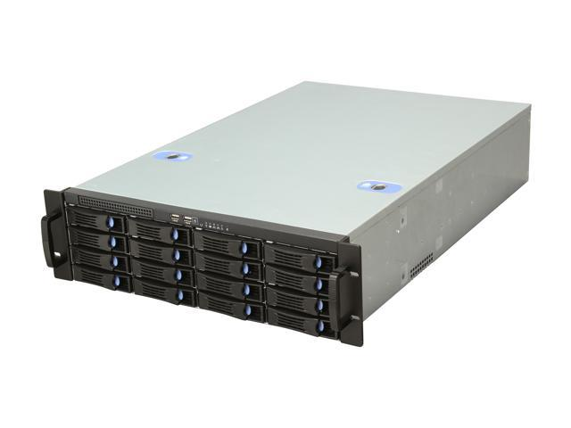 Habey ESC-3162C 3U Storage Server Chassis with 16 hot-swap SAS/SATA Bay