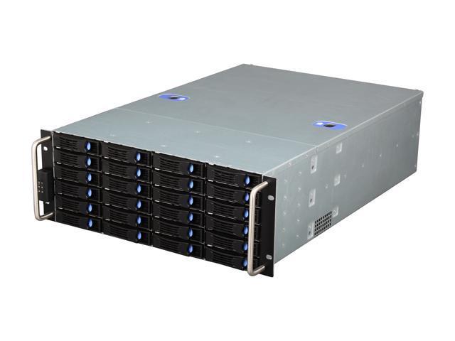 Habey ESC-4242C Black 4U Rackmount Server Case - OEM