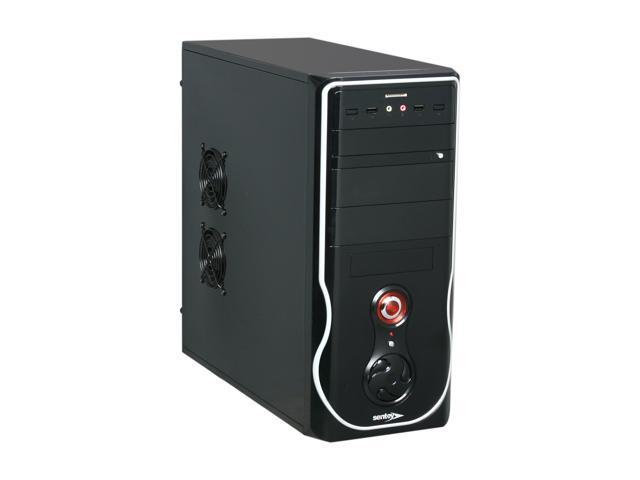 Sentey  Classic Series CS1-1399 Mid Tower Case w/ Power Supply SECC 0.5mm 2x USB/ Card Reader SD-MMC / ATX-MATX