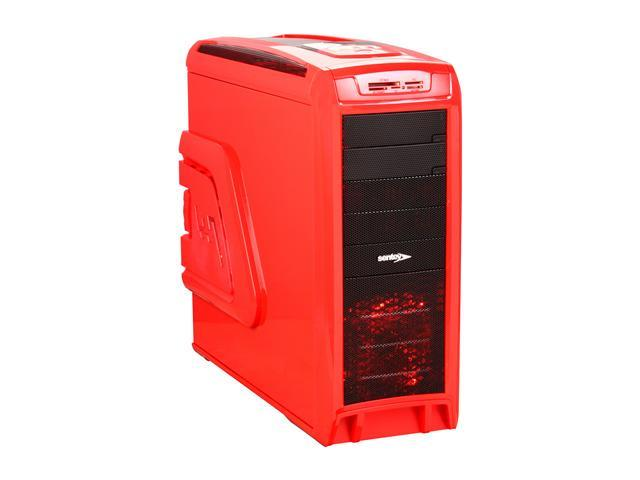 Sentey Arvina Extreme Division Tower Case 6x Fan LED/ 4 x USB / Multi Card Reader / 4 x Fan Control / E-SATA / 6 x Removable Aluminum Bays / Screwless