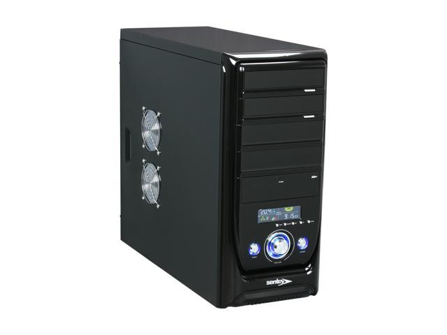 Sentey Professional Series PS2-3272 Glossy Black Computer Case