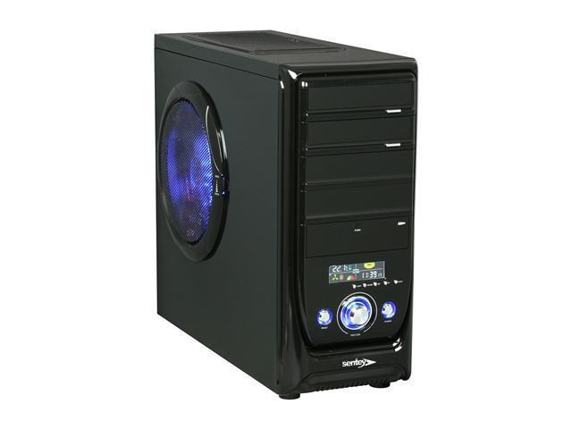 Sentey Black Box Series BX1-4237 v2.2 Black Computer Case