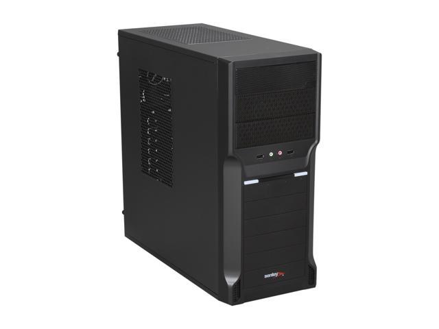 Sentey CS1-1410 Classic Series Case w/ PSU BRP400 – 400W Included / 1 x 120mm Fan Cooler / HD Audio / 2 x USB 2.0 / SSD Drive Support / Water Cooling Ready