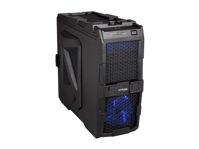 Sentey Extreme Division GS-6700 SPIDER Sandy Mate Black SECC / Plastic ATX Full Tower Computer Case