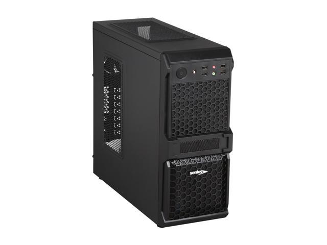 Sentey Cobra Extreme Division Tower Case - 1 x 120mm Fan Cooler / HD Audio / 4 x USB 2.0 / Screwless