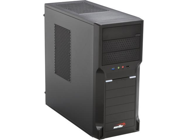Sentey CS1-1410 PLUS Black SECC 0.5mm ATX Mid Tower Computer Case