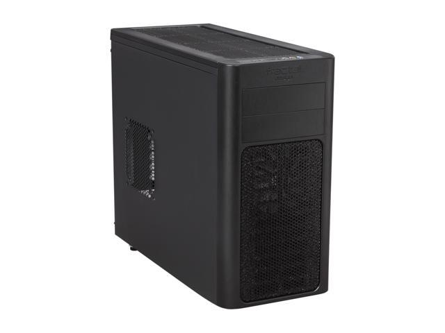Fractal Design Arc Mini Black High Performance PC Computer Case w/ USB 3.0 and 3 Fractal Design Silent Fans