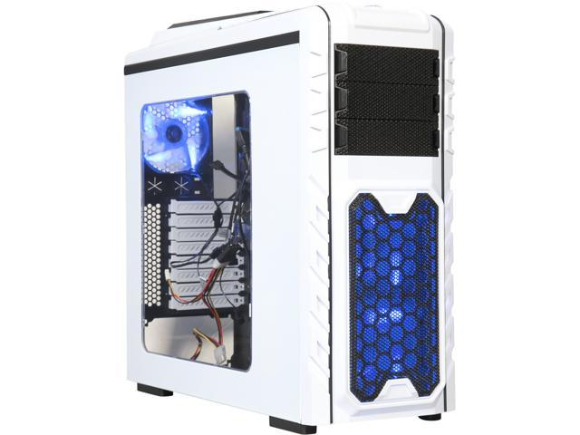 DIYPC Skyline-08-W White SECC ATX Full Tower Computer Case