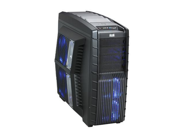 AZZA Hurrican 2000 CSAZ-2000 Black SECC Japanese Steel ATX Full Tower Computer Case