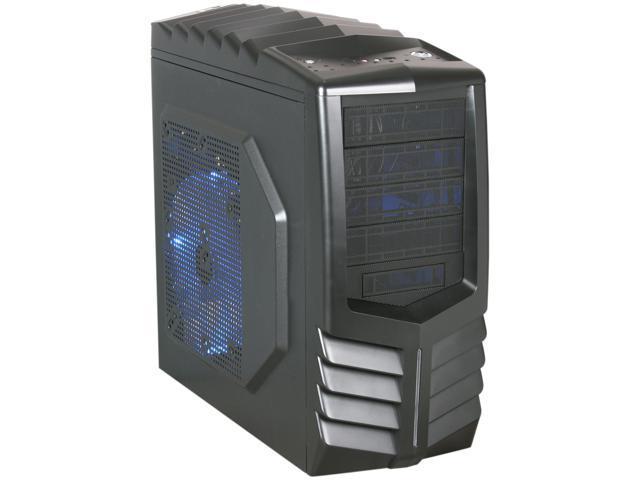 AZZA Toledo 301 (CSAZ-301) Black SECC Steel ATX Mid Tower Computer Case