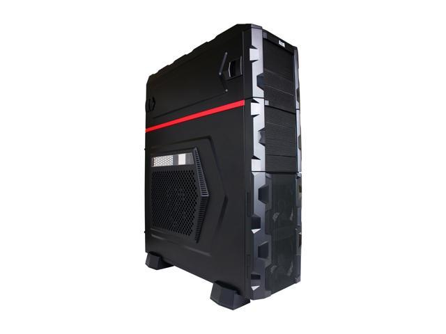 AZZA Fusion 4000 (CSAZ-4000) Black SECC ATX Super Full Tower Computer Case