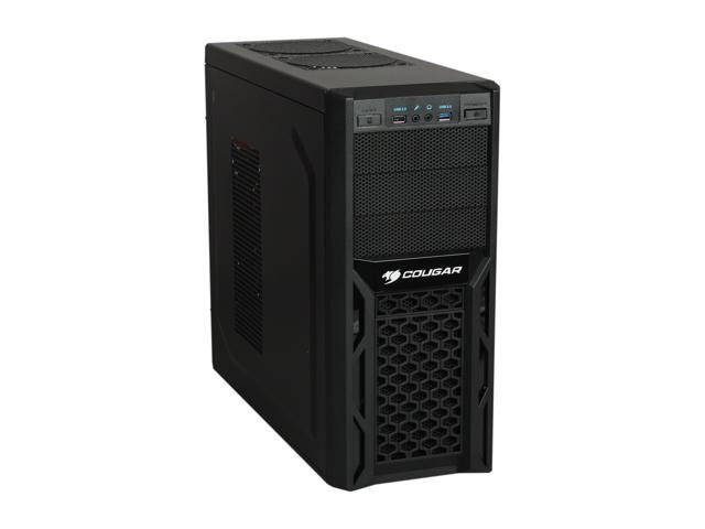 COUGAR SolutionRSB400 Black Steel ATX Mid Tower Computer Case Haswell ready 400W Power Supply