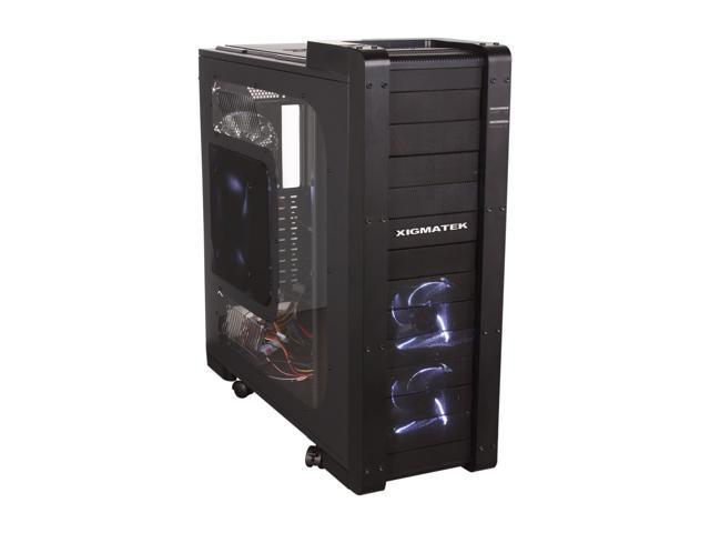 Xigmatek Elysium Black CCC-HSA0DS-U01 All Black Computer Case