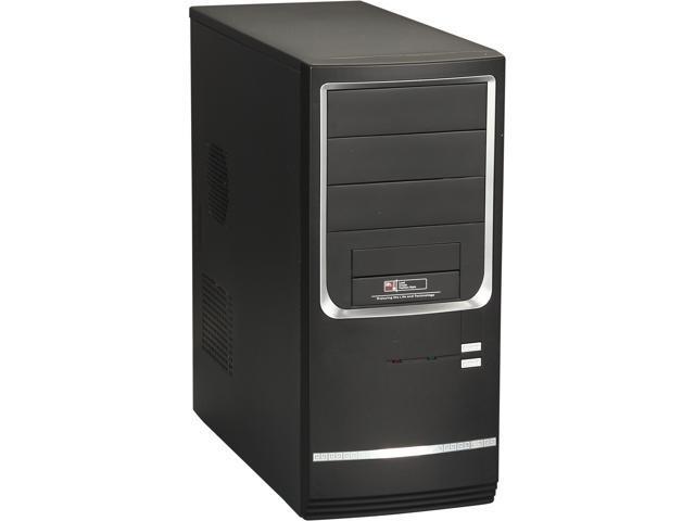 Diablotek RPA-9611B Black Steel ATX Mid Tower Computer Case