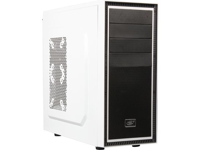 DEEPCOOL TESSERACT WH Mid Tower Computer Case SPCC + PLASTIC