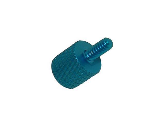 Link Depot SCW-10-BU Blue Aluminum screw