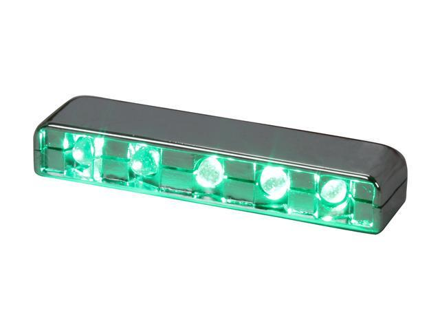 LOGISYS Computer MDLED5GN Green 5LED Lazer Light